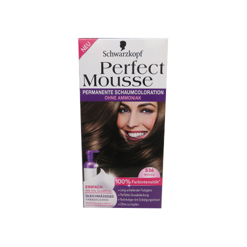 Haarfarben : Perfect Mousse 536 Mocca