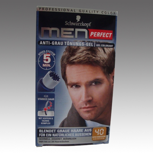 Herrenpflege Schwarzkopf Men Perfect Anti Grau Tönungs Gel
