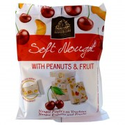 Soft Nougat with Peanuts&Fruit